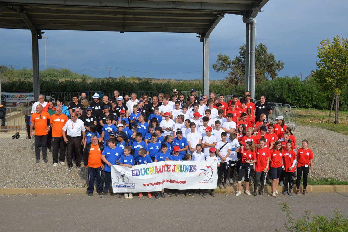 LES ALBUMS PHOTOS de la 3ème Journée de la GRANDE FINALE du Challenge EDUCNAUTE JEUNES