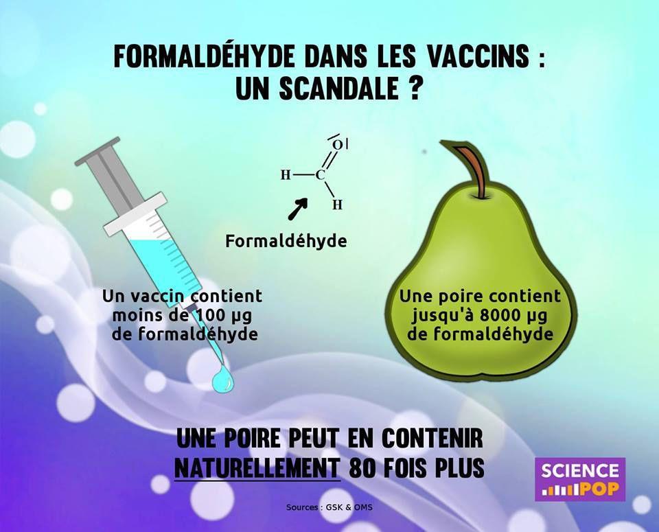 Formaldéhyde, vaccin contre la grippe et maladie d'Alzheimer: les dernières recherches ne sont pas rassurantes!