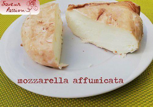 Idée du dimanche soir : pasta, melanzana, mozzarella affumicata (aux aubergines et mozzarella fumée)
