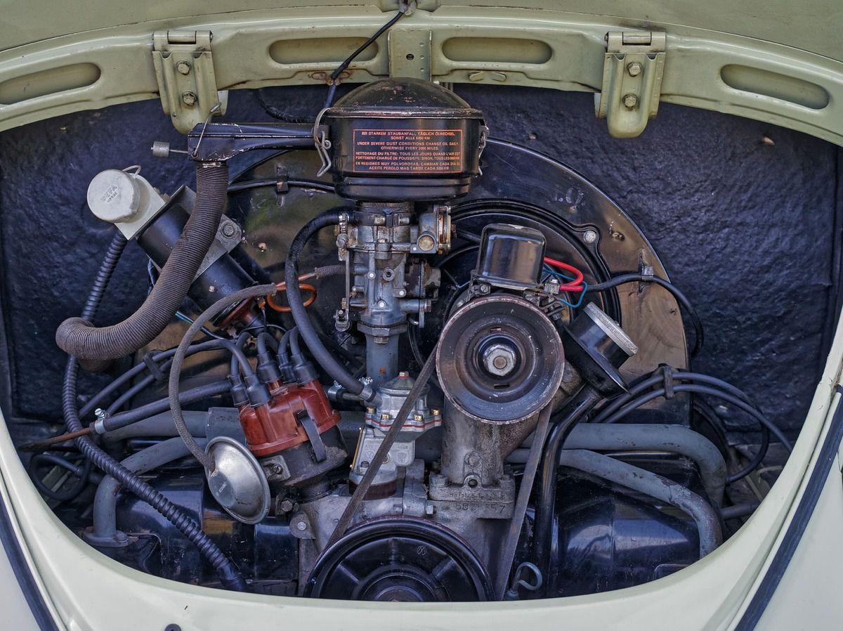 VW Cox 1961 de Luxe à Vendre : La Norvégienne