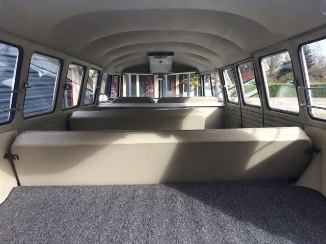 VW Combi Split 13 fenêtres De Luxe 1964