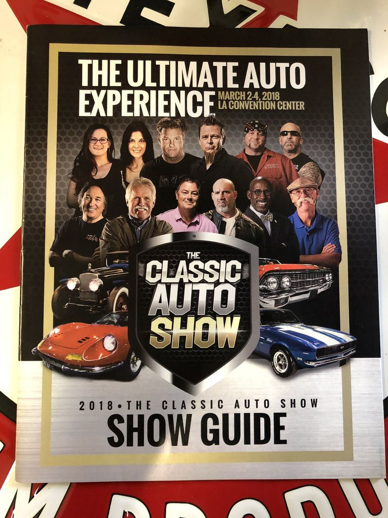 Los Angeles Classic Auto Show 2018