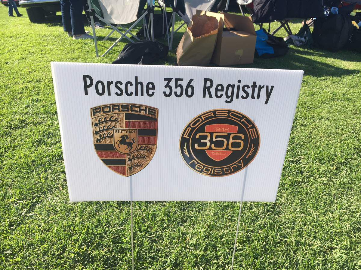 Porsche 356 registry meeting
