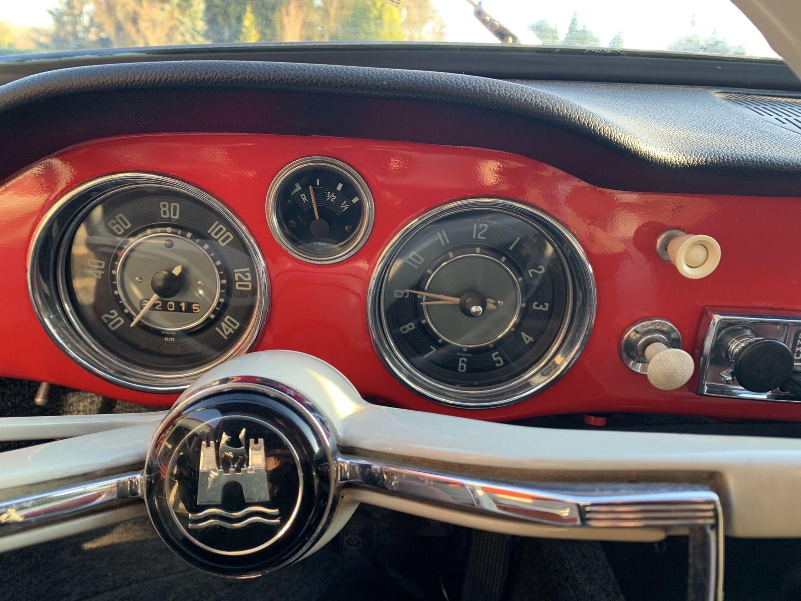 A Vendre : Karmann Ghia 1962