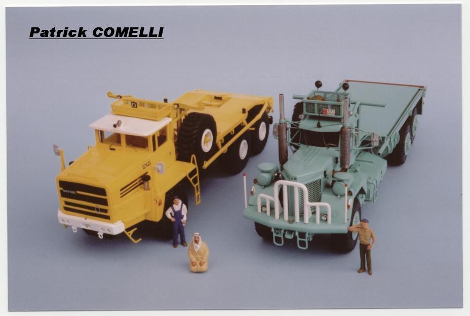 Kenworth 953 au 1/50 de chez Dan Models (par J. Hadacek et F. Vasseur)
