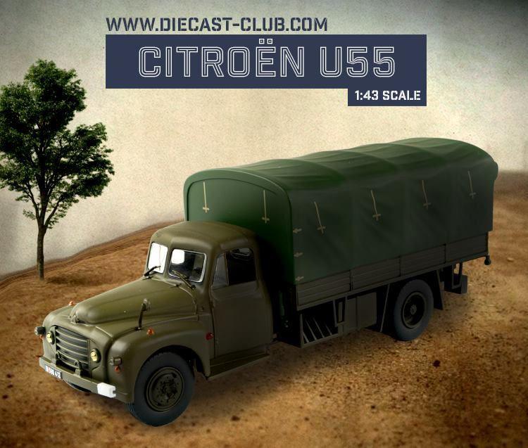Citroën U55 au 1:43 (Direkt/Ixo/Odéon)