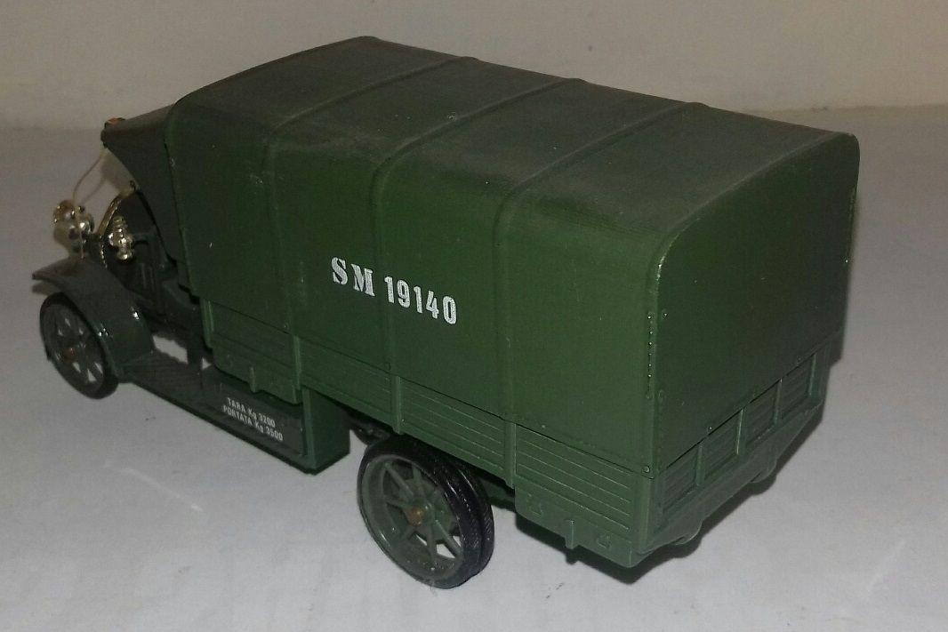 Le Fiat 18 BL de l'armée italienne (article complété)