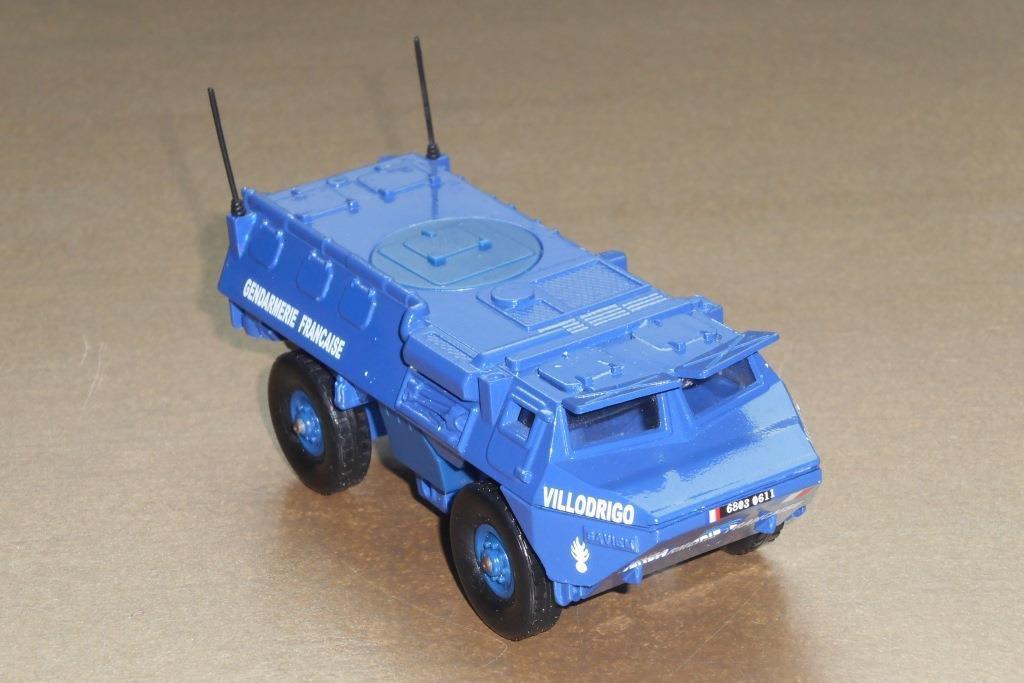 Rediff : VAB 4x4 Gendarmerie Solido au 1/50ème