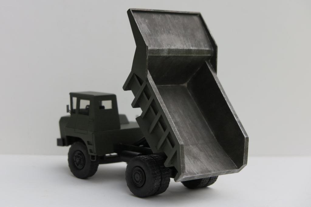 Berliet T30 dumper au 1/50 de chez Miniature du Faubourg (par Florent Vasseur)