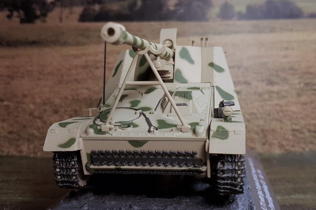 Panzerjäger Nashorn SD.KFZ. 164 au 1/43 (Altaya/Ixo)