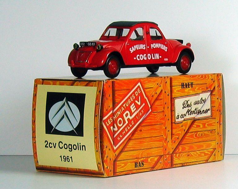 Citroën 2CV bicéphale des sapeurs-pompiers de Cogolin (par Sylvain J.)