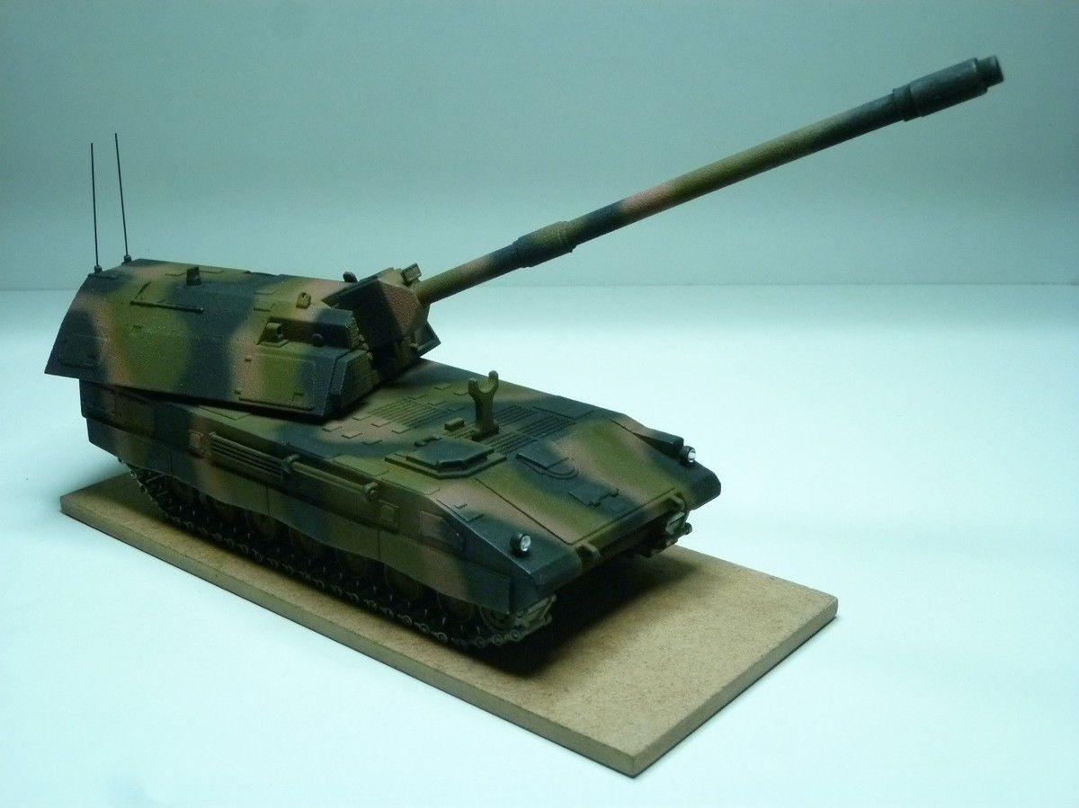 Panzerhaubitze 2000  (ou PZH 2000)  en impression 3D (par Jean-Charles)