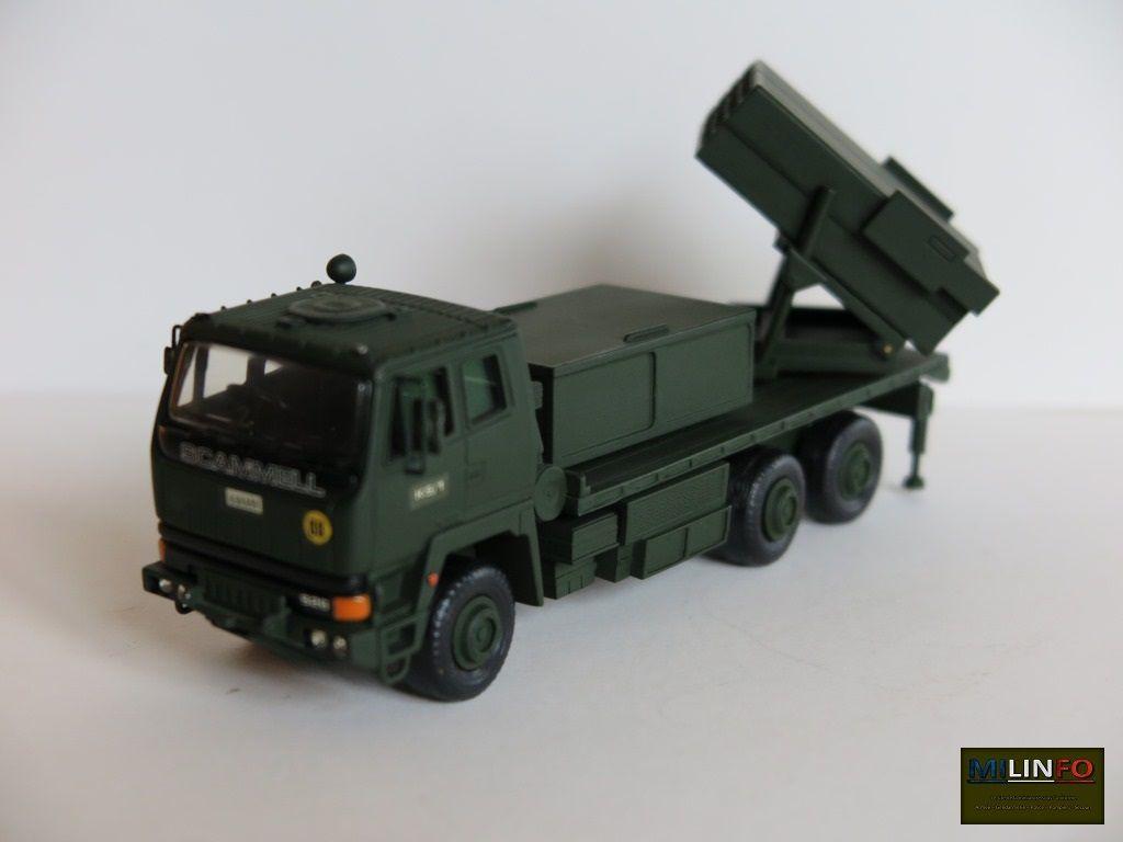 Scammel S26 6x6 lance-roquettes au 1/48ème (Smith Models)