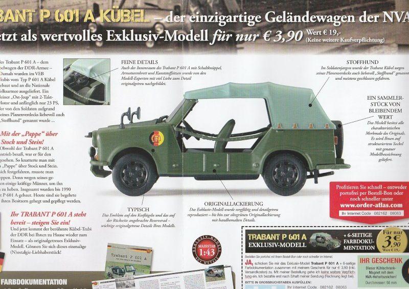Série-presse : véhicules et blindés de l'ex-Allemagne de l'Est au 1/43ème