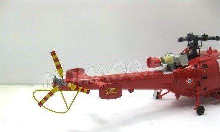 Alouette III au 1/43 (Perfex/Alerte)
