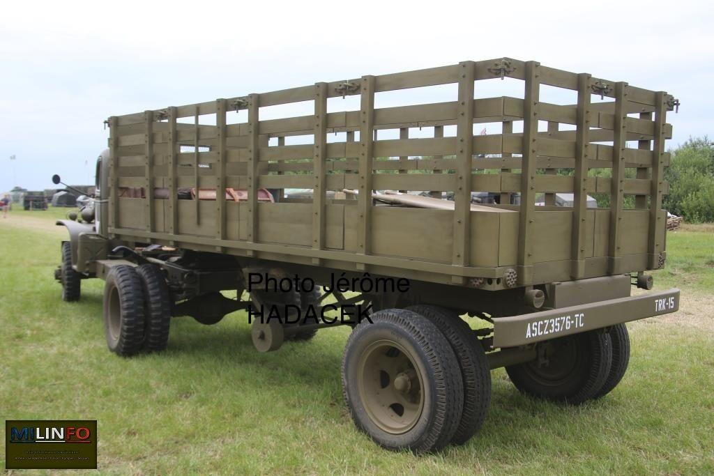 Tracteur Chevrolet G-7113 et semi-remorque US de 1/2 ton au 1/48 (Gaso.Line)