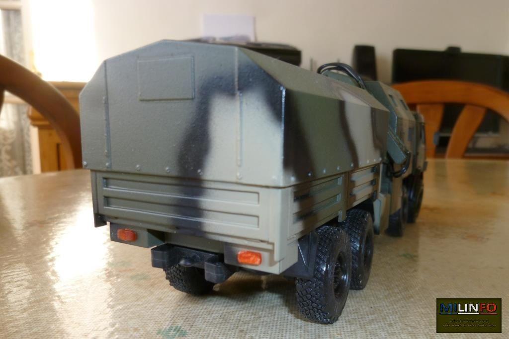 Kamaz 6350 cargo et tracteur d'artillerie au 1:43 (par Hervé C.)