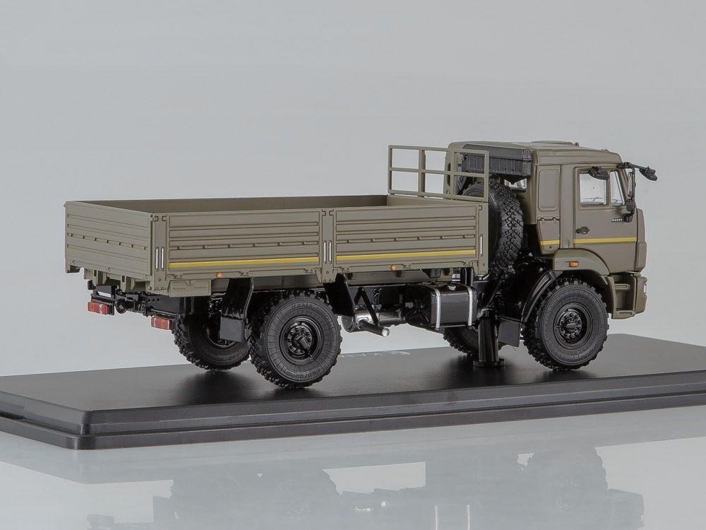 KAMAZ-43502 et 43253 caisse cargo  au 1:43 (Start Scale Models - SSM)