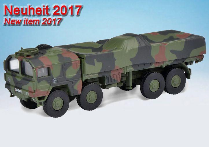 """MAN LKW 5t GL KAT I 4x4 Pritsche/Plane """"Bundeswehr"""" / MAN LKW 7t GL KAT I 6x6  """"Bundeswehr"""" / MAN LKW 10t GL KAT I 8x8  """"Bundeswehr"""""""