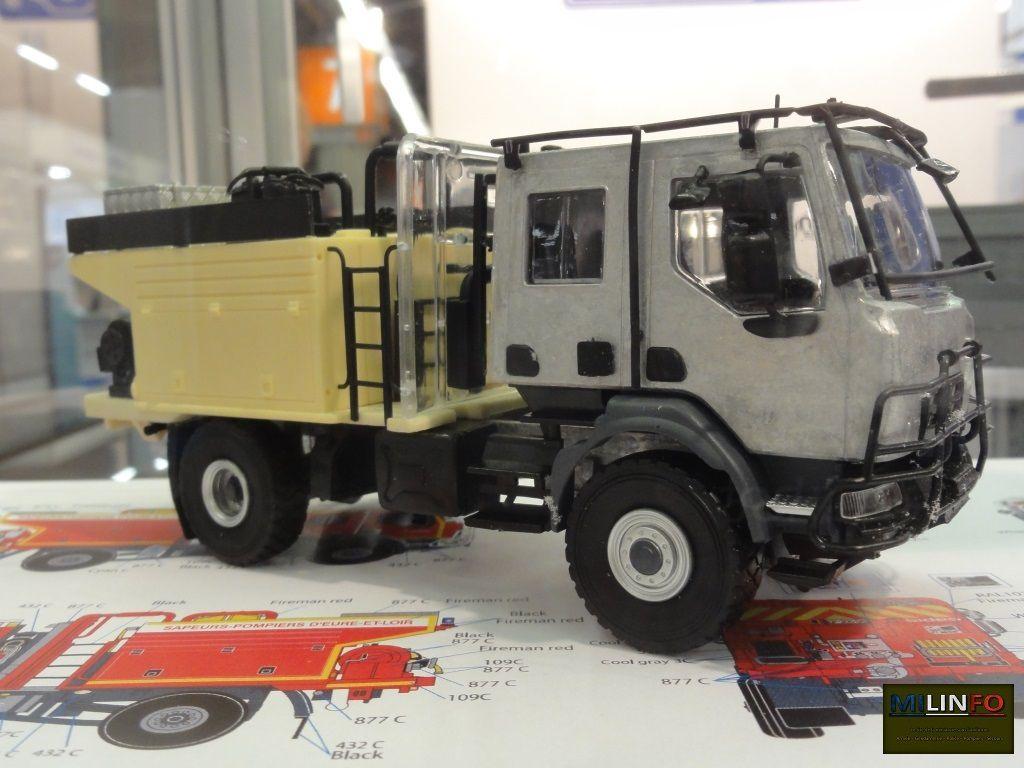 Renault Kerax CCFS 9000 Sides des formations militaires de la Sécurité civile (Eligor)