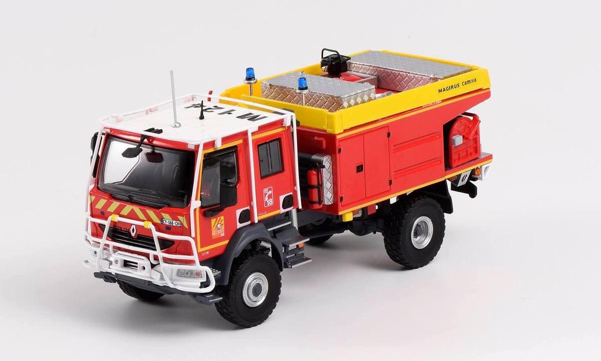 Nouveauté pompiers : Renault Midlum CCF du SDIS 66 au 1/43 (Eligor)