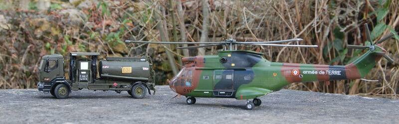 Hélicoptère Puma au 1/50 (Heller)
