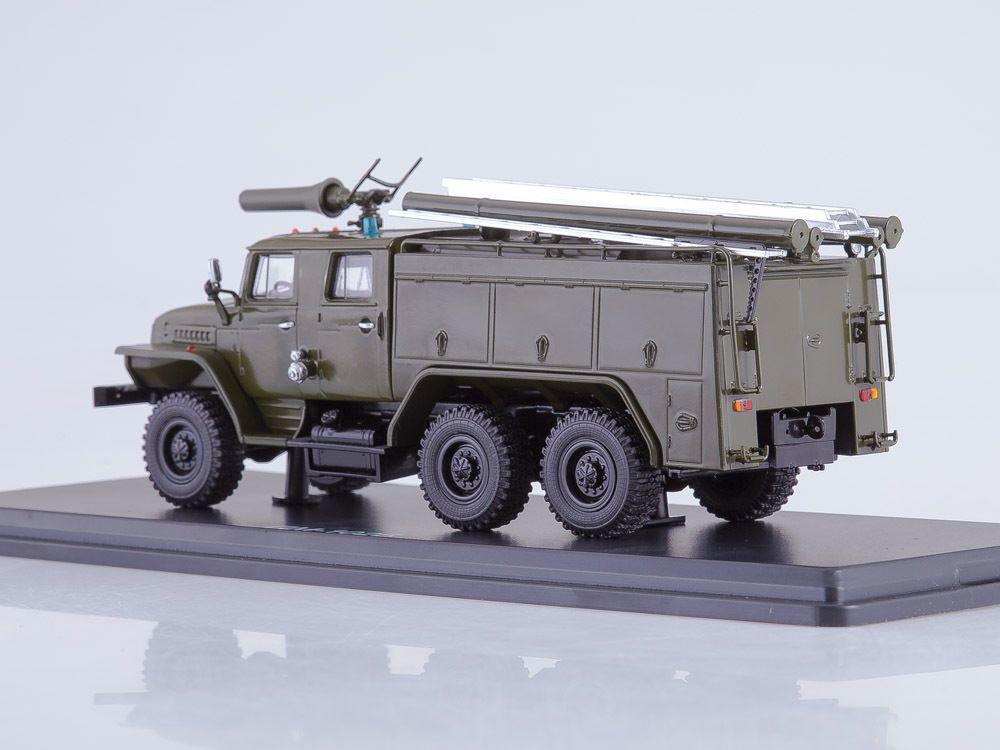 URAL-43202 AC 40 au 1/43 (Start Scale Models - SSM)