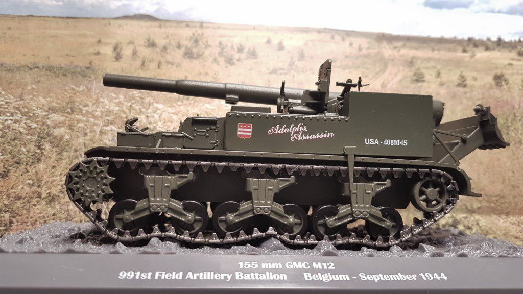 M12 GUN Motor Carriage au 1/43 (Altaya/Ixo)