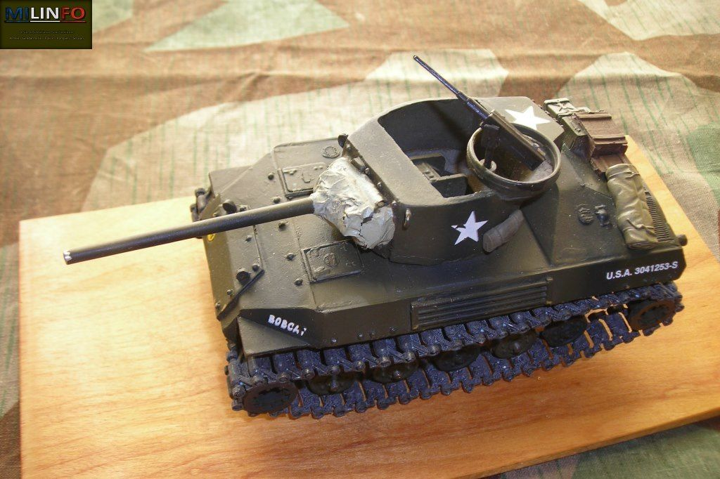 M18 HELLCAT au 1/48 (Brent Dietrich Collector's Edition)