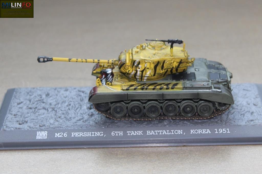 M-26 Pershing au 1/72 (Solido/ War Master)