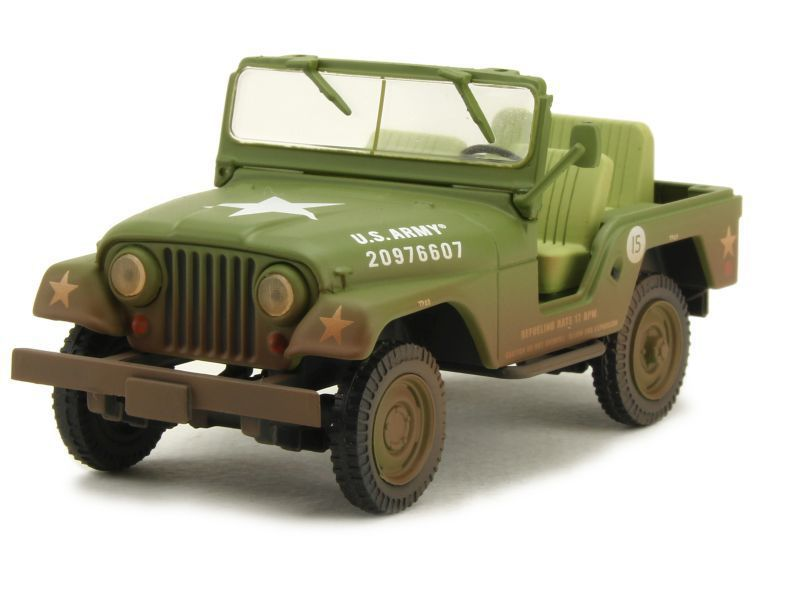 Jeep M-38A1 d'Elvis au 1:43 (Greenlight)