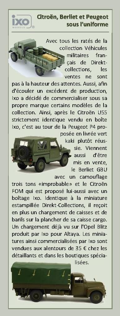 Berliet GBU 15 au 1/43 (Direkt-Collections/Ixo/Hachette)