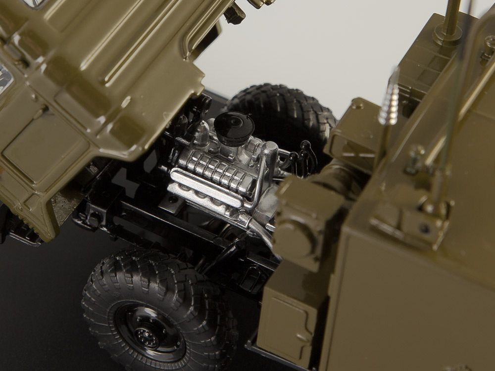 Le GAZ66 transmission au 1/43 de chez SSM