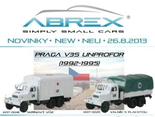 Praga V3S au 1/43 (Abrex)