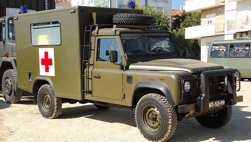 LAND-ROVER DEFENDER 4x4 MF/09 sanitaire