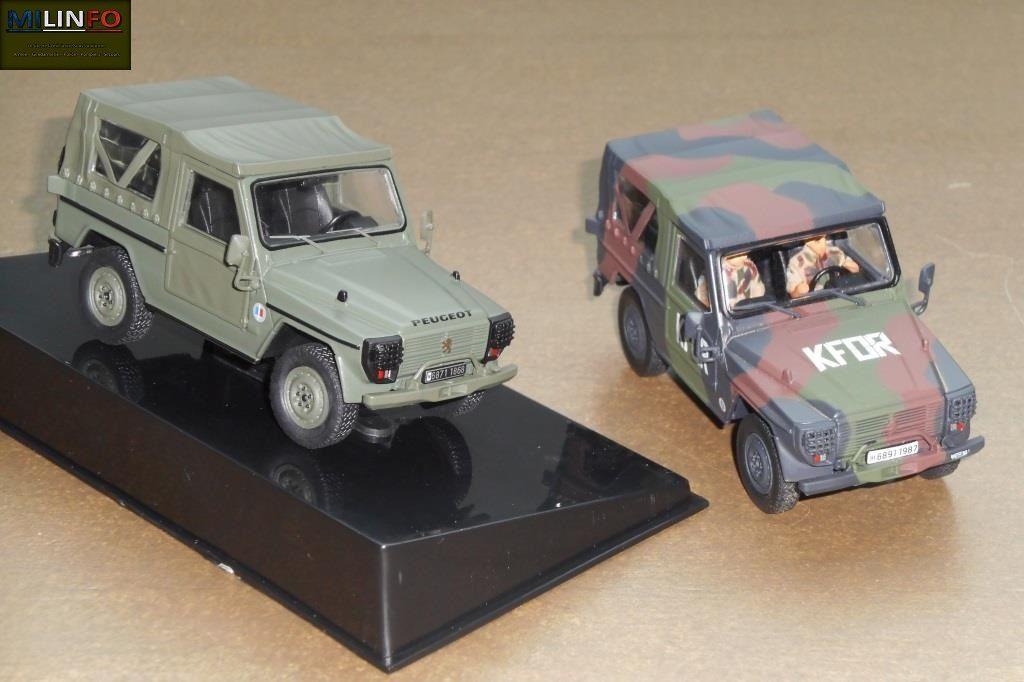 Les deux miniatures réunies sur une même photo...