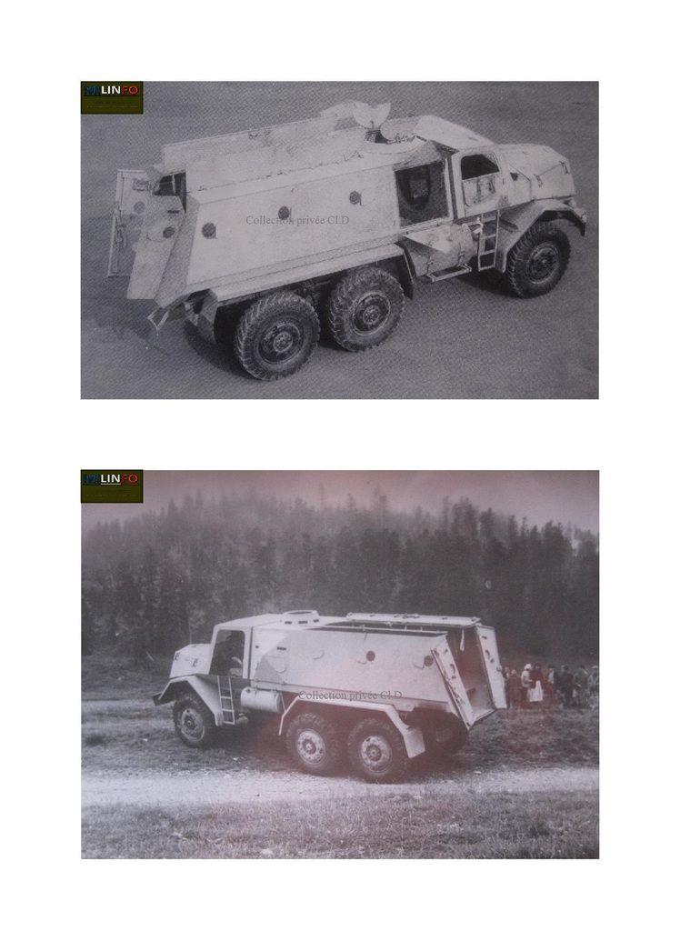 Camion blindé Berliet-Lorraine au 1:43  (JHPROD) - MAJ : 25/10/20