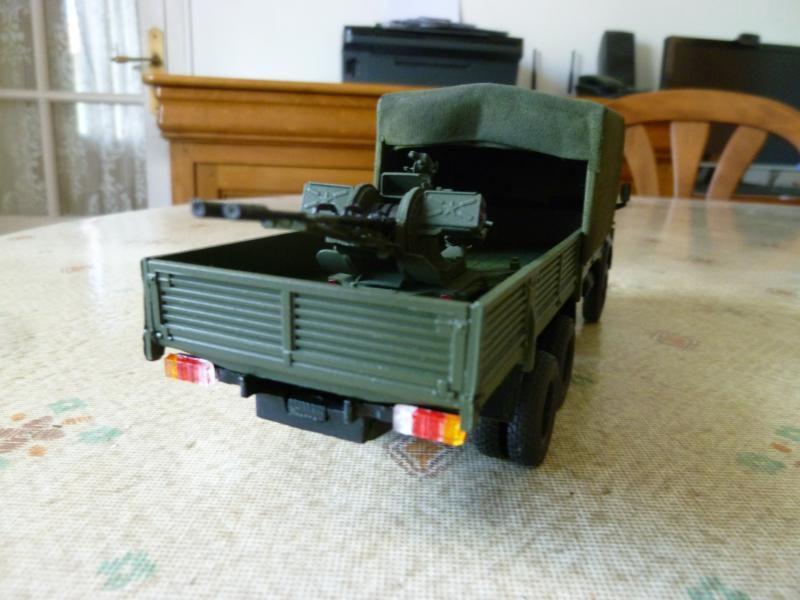 Camion KAMAZ 53212 avec canon anti-aérien ZU-23-2 au 1:43 (par Hervé C.)