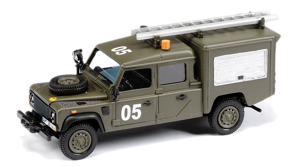 Land Rover militaire au 1/43 (HartSmith/ASAM)
