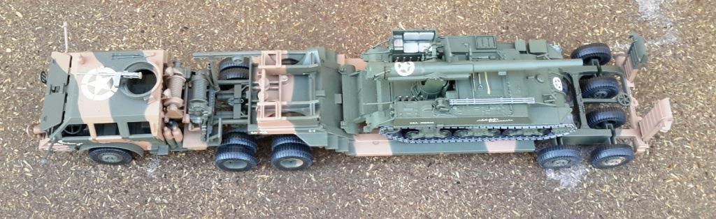 Porte-char M25 Pacific et FAMO au 1/43 (Altaya/Eagle Moss/Ixo) par Dominique B.