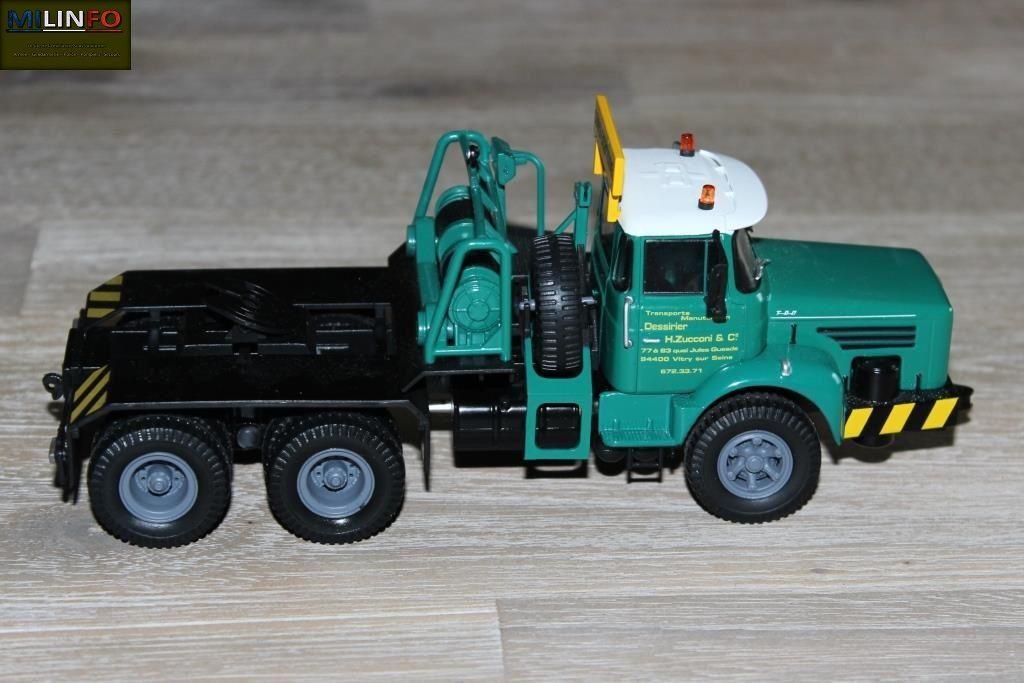Le tracteur pourra assez facilement être militarisé... Il est correctement réalisé et détaillé.