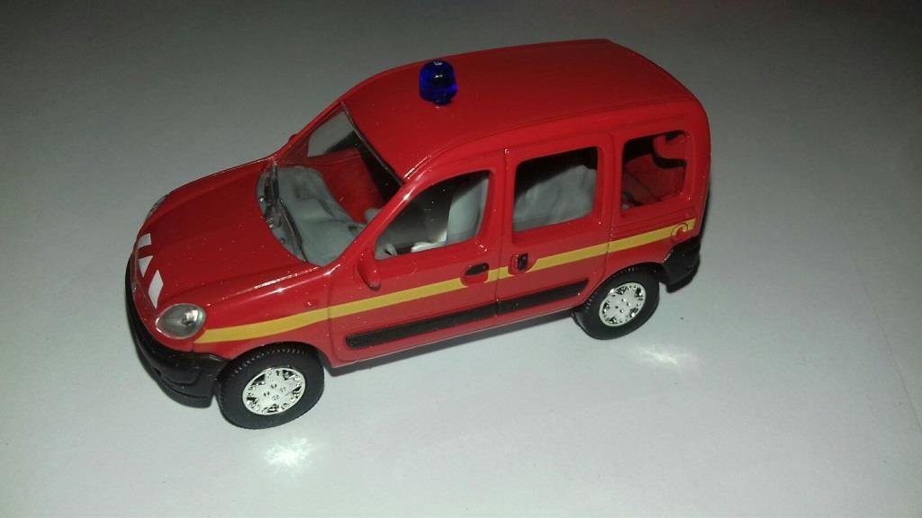Renault Kangoo sapeurs-pompiers