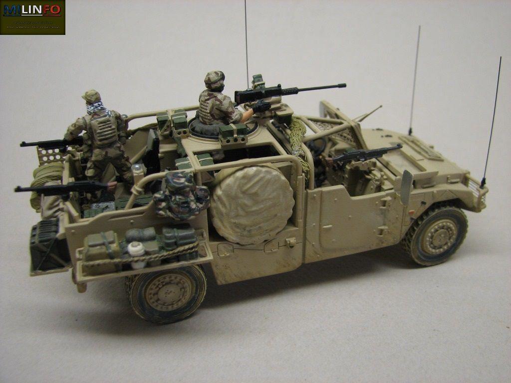 Le Sherpa Light Forces spéciales et le VLRA2 Commando de chez Master Fighter (par Robert)