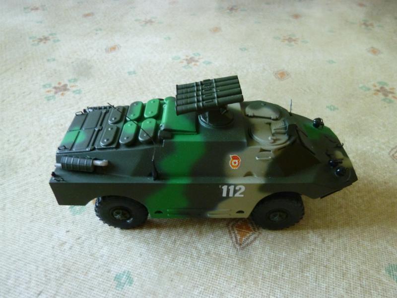 Véhicule blindé de reconnaissance BRDM 2 au 1/43 (par Hervé C.)