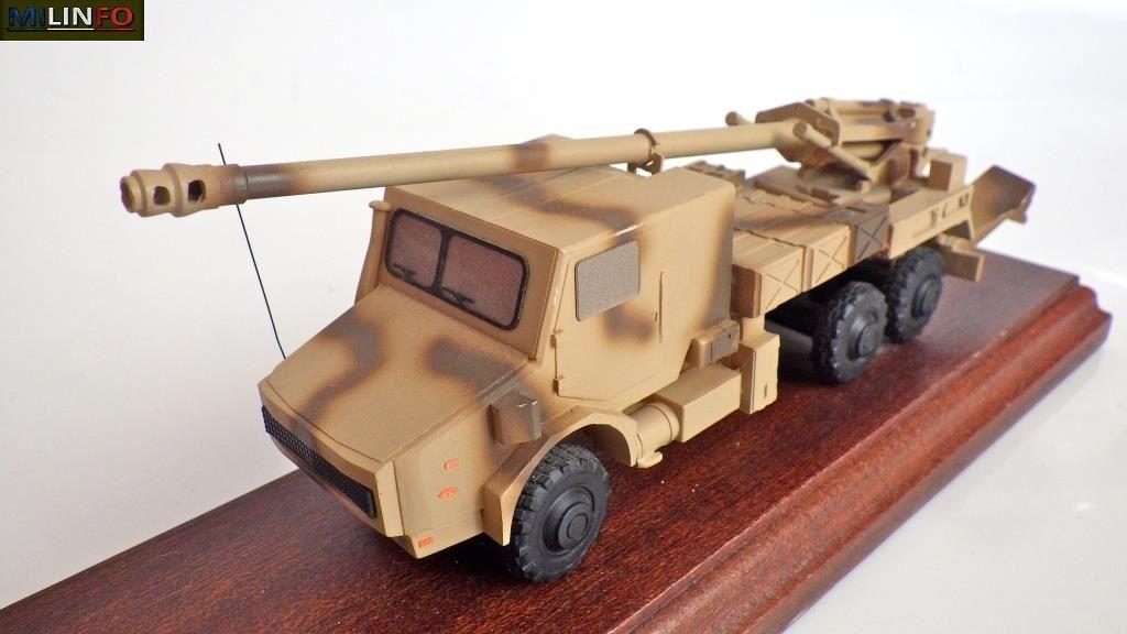Collector : prototype du CAESAR au 1/50ème (par Jérôme HADACEK)