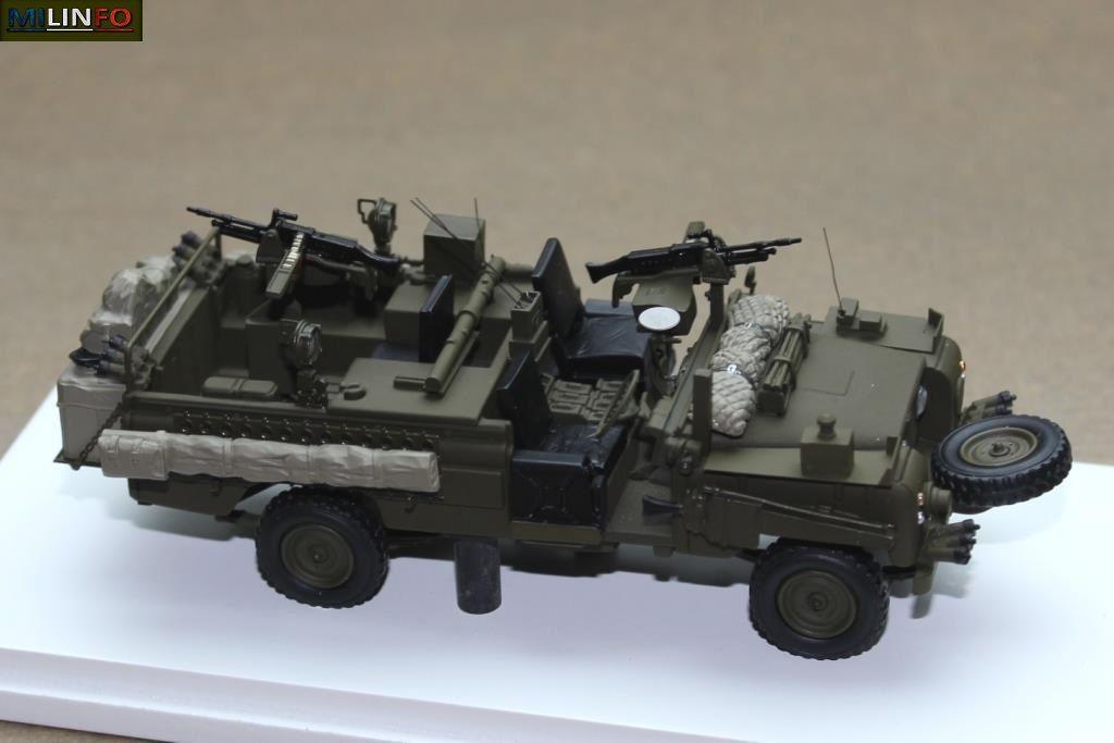 "Land Rover SERIES IIA 109 ""SAS Patrol Vehicle"" au 1/43 (TSM Model)"