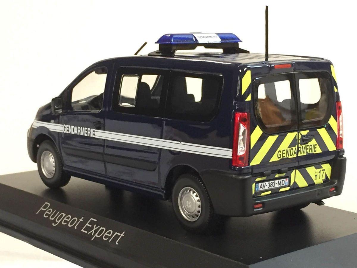 Peugeot Expert 2010 et 2011  Gendarmerie au 1/43ème (Norev)