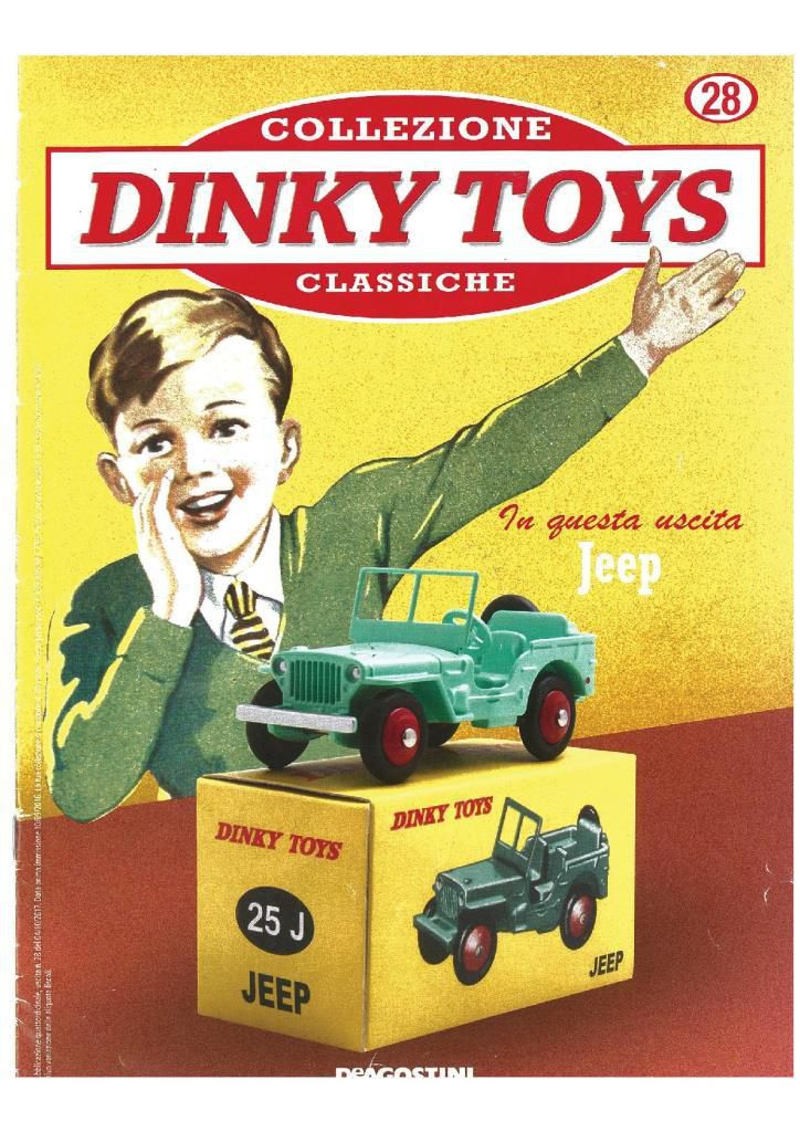 Jeep De Agostini / Dinky Toys 25J : cafouillage de références autour d'une reproduction...