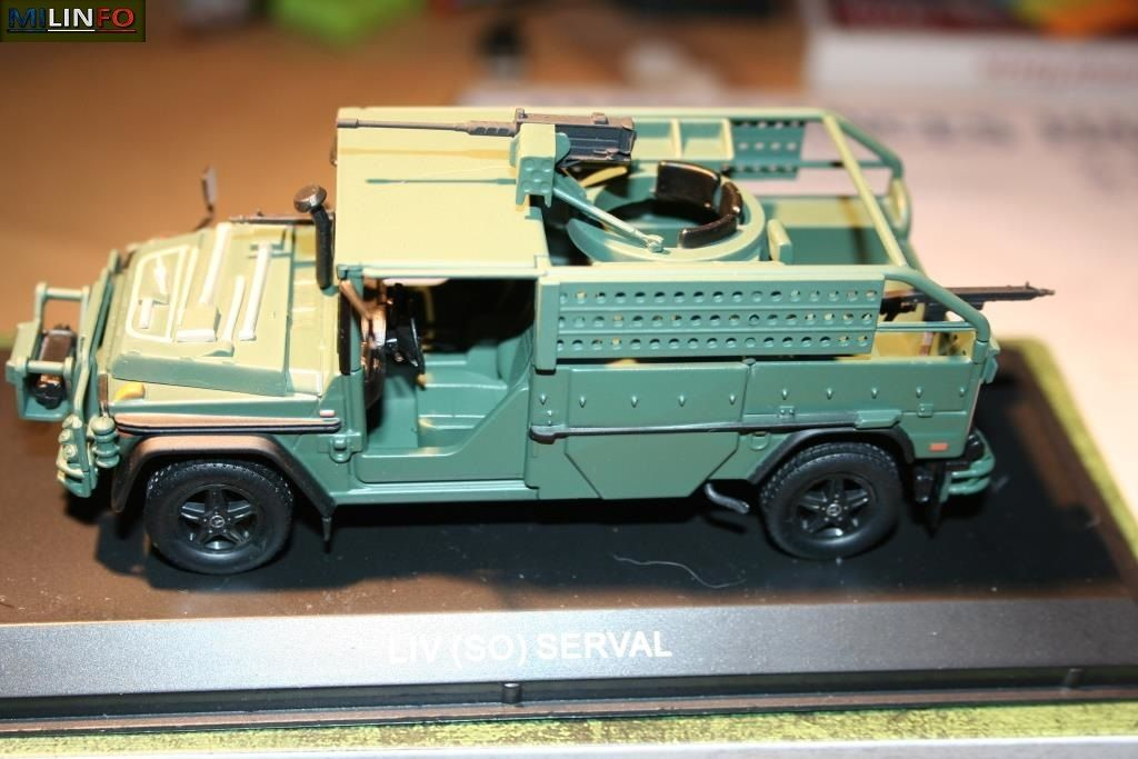 Mercedes LIV-SO Serval au 1/43 (Atlas/Ixo)