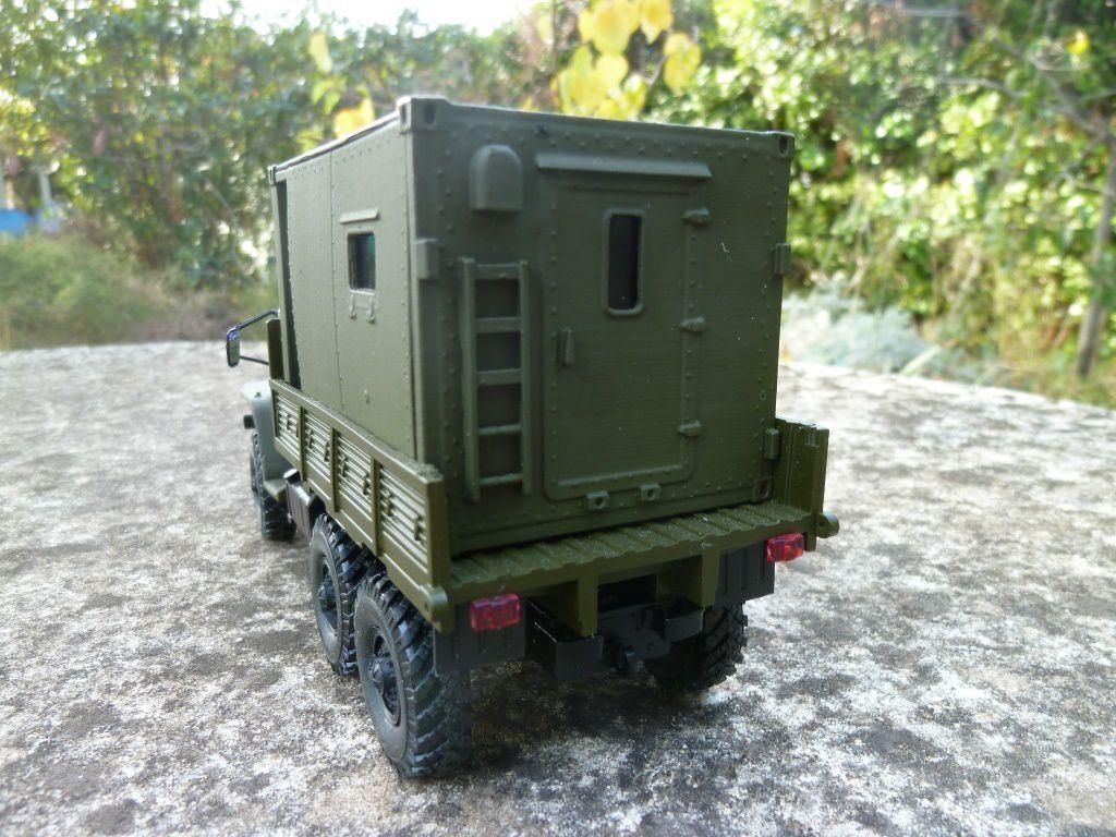 Camion URAL 4320 shelter  KK2-1 au 1:43 (Scale) par Hervé C.